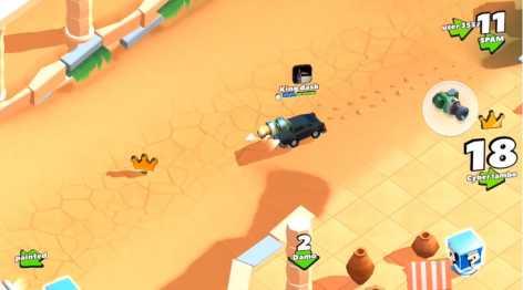 Crash of Cars (взлом: много денег)