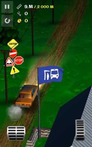 Злой Муду - Hill Climbing Taxi взломанный