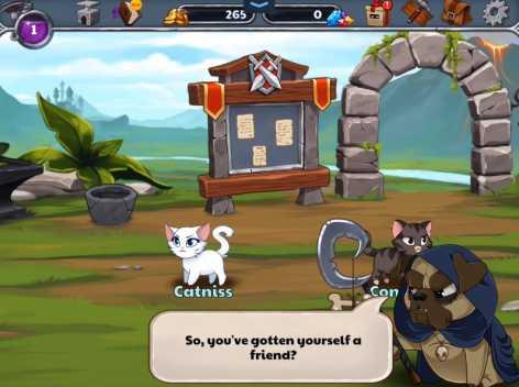 Castle Cats взломанный