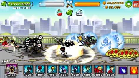 Взлом HERO WARS: Super Stickman Defense