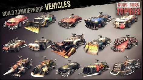 Guns, Cars, Zombies (взломанный: много денег)