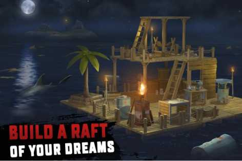 Взлом RAFT: Original Survival Game (Mod на еду)