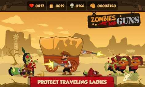 Zombies and Guns взломанная
