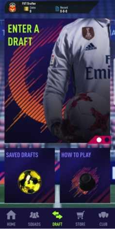 Draft Simulator for FUT 18 (взломанный: много денег)