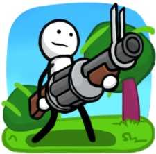 One Gun: Stickman (взломанный: много денег)