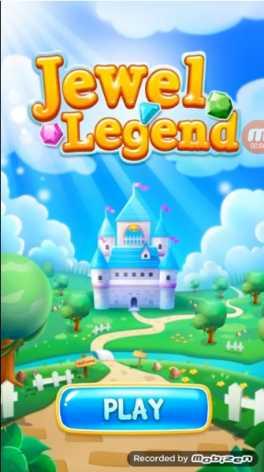 Jewel Legend: три в ряд взломанный (Мод драгоценные камни)