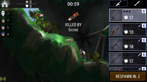Flat Army: Sniper War взломанный (много денег)