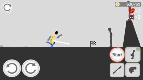 Stickman Backflip Killer 3 взлом (Мод много денег)