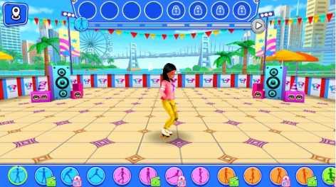 Взломанная Девчонки на роликах – Танцы на колесах (Мод разблокировано)