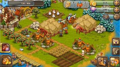 Славяне: Ферма взлом (Mod: много денег)