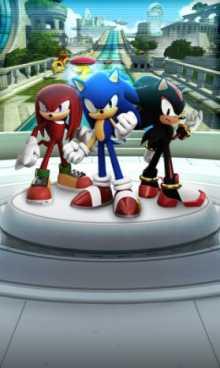 Sonic Forces: Speed Battle взломанный (Мод много денег)