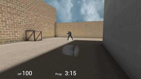 Взломанная Prop Hunt Portable (Мод бесконечные деньги)
