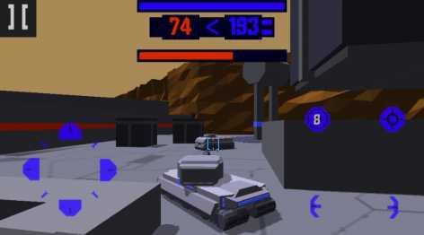 Взлом Cyberspace Tanks 3D (Мод много денег)