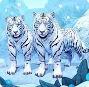 Симулятор Семьи Белого Тигра Онлайн взломанный (Мод много денег)