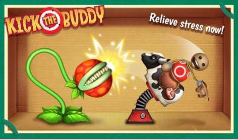 Взломанный Kick the Buddy (Чит много денег)