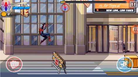 Человек-Паук: Невероятная Сила взломанный (Мод много денег)
