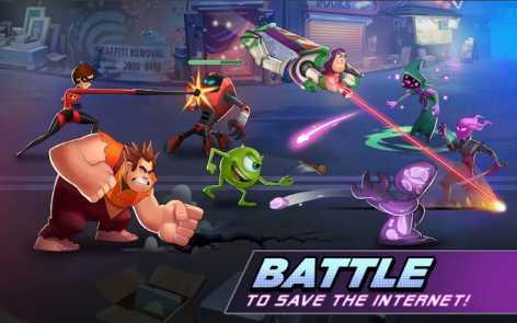 Disney Heroes: Battle Mode взломанный (Мод много денег)