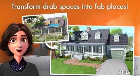 Home Design Makeover! взломанный (Мод много денег)