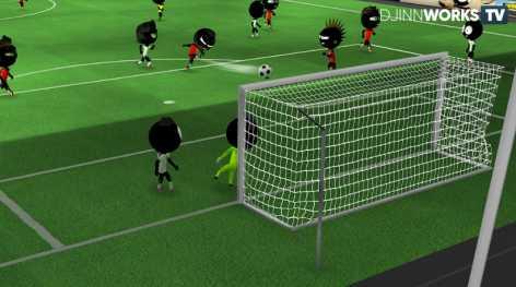 Stickman Soccer 2018 взломанный (Mod: много денег)