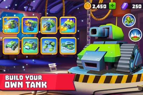 Tanks a lot! взлом (Мод много денег)