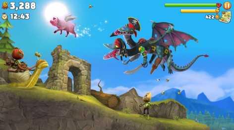 Hungry Dragon взломанный (Мод свободные покупки)