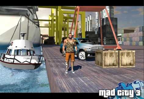 Mad City Crime 3 New stories взломанная (Mod свободные покупки)