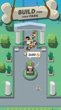 Взлом Crazy Dino Park (Мод много денег)