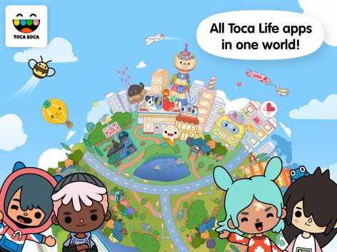 Toca Life: World взломанный (Мод все разблокировано)