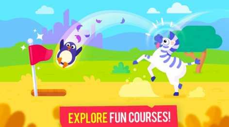 Взлом Golfmasters - Fun Golf Game (Мод много денег)