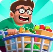 Idle Supermarket Tycoon - Shop взломанный (Mod: много денег)