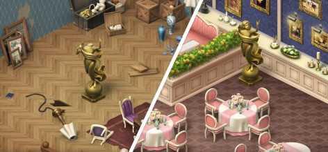 Manor Cafe взломанный (Мод много звезд)
