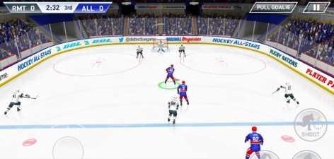 Hockey All Stars взломанный (Мод много денег)