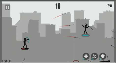 Stickman Arrow Master - Legendary взломанный (Мод много денег)