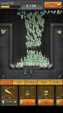 Idle Zombies взломанный (Мод свободные покупки)