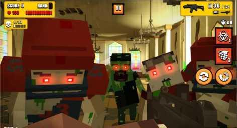 Cube Zombie Hunter взломанный (Мод много денег)