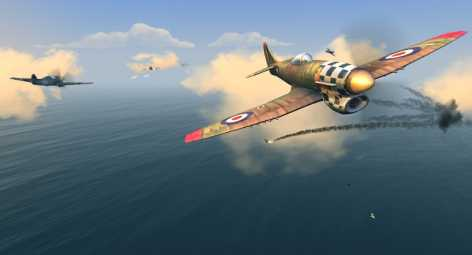 Warplanes: WW2 Dogfight взломанный (Mod: много денег / разблокировано)