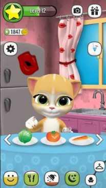 Моя Говорящая Кошка Эмма взломанная (Mod: много денег)