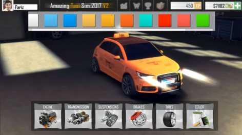 Amazing Taxi Simulator V2 2019 взломанный (Мод на деньги)