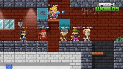 Pixel Worlds взломанный (Мод много денег)