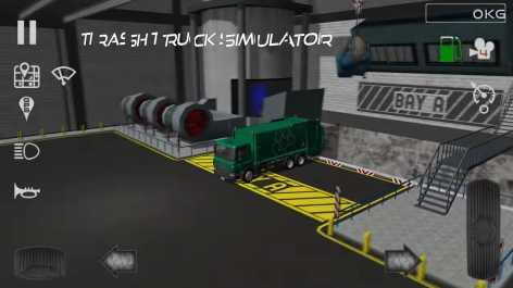 Trash Truck Simulator взломанный (Мод много денег)