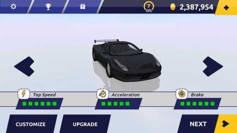 Racing in Car 2 взломанный (Мод много денег)