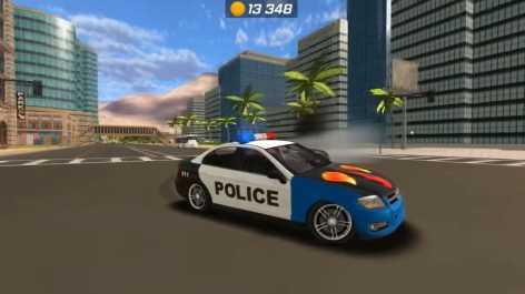 Police Car Chase - Cop Simulator взломанный (Мод много денег)