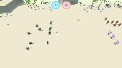 Tactical Battle Simulator взломанный (Мод много денег)
