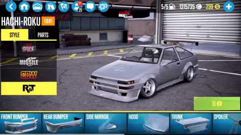 CarX Drift Racing 2 взлом (Mod: много денег)