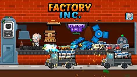 Factory Inc. взломанный (Мод свободные покупки)
