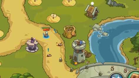 Tower Defense Crush: Empire Warriors TD взлом (Mod: много денег)