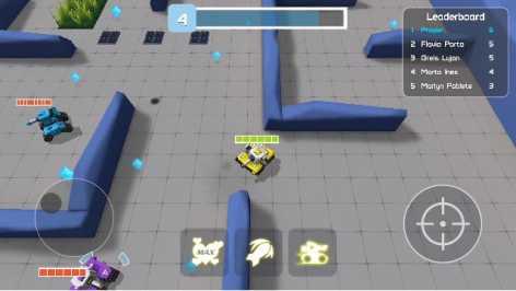 Tankr.io Realtime Battle взломанный (Мод много денег)