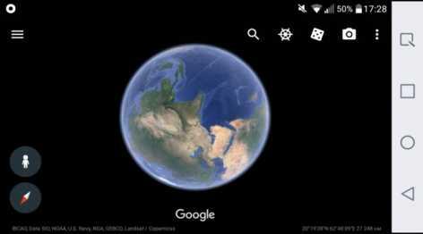 Google Планета Земля полная версия