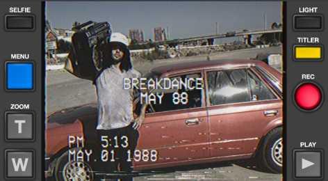 VHS Camcorder (полная версия / Мод все открыто)
