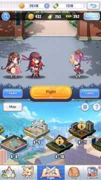 Girls X Battle 2 взлом (Мод много денег)